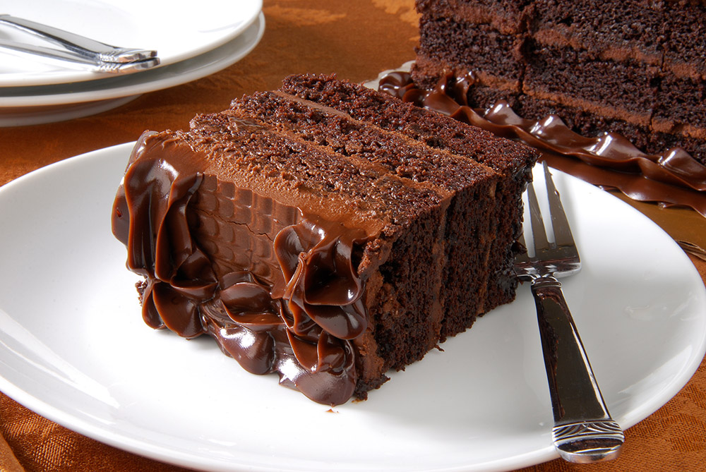 Extra Moist Chocolate Cake with Chocolate Frosting Recipe - Jamie's Feast