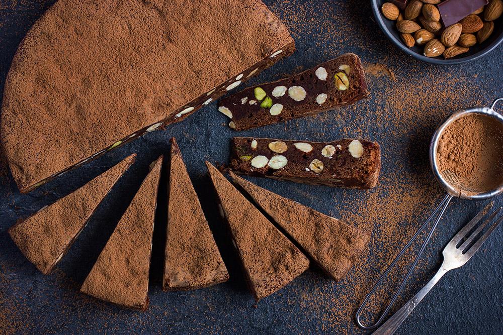 Sorrento Chocolate Almond Cake Recipe