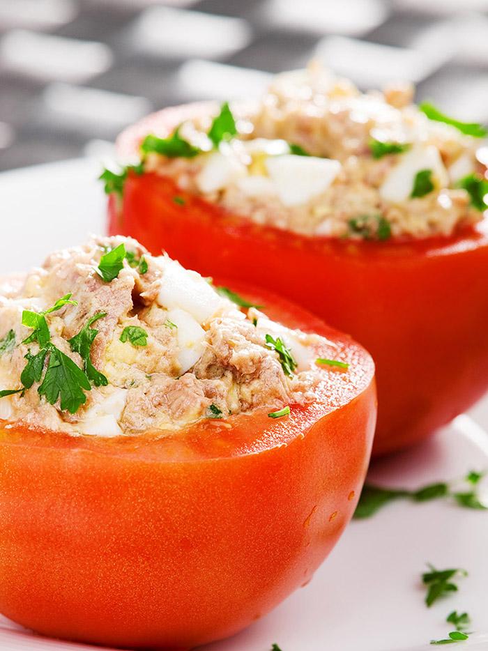 Tuna-stuffed Tomatoes – Italian Recipe
