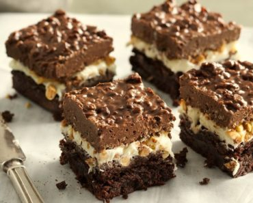 Brownie Chocolate Peanut Butter Bars