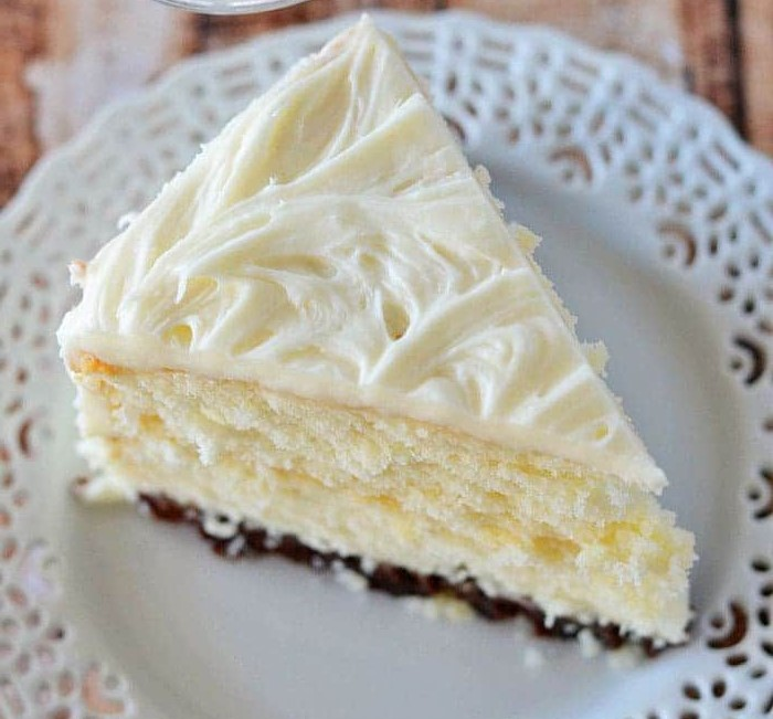 Vintage Grandma's Cream Cake Recipe