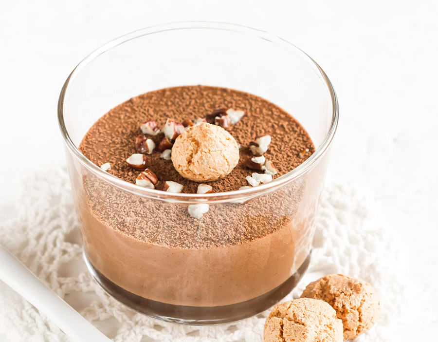 Chocolate Amaretti Mousse