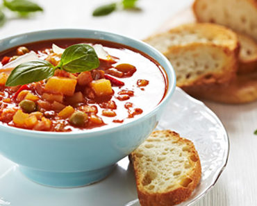 Classic Minestrone – Italian Recipe