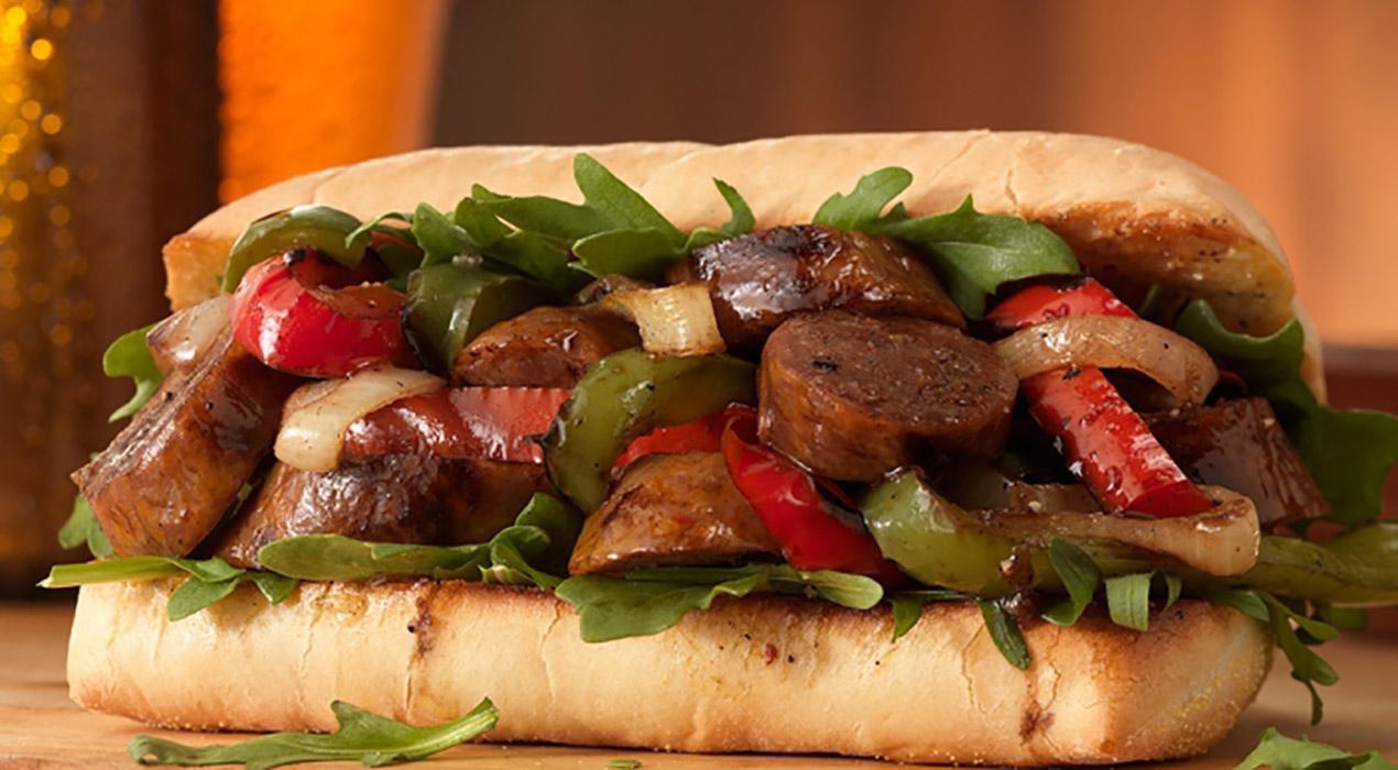 Sausage and Pepper Sandwich - Italian Recipe