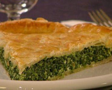 Easy Spinach Pie (Torta Verde)