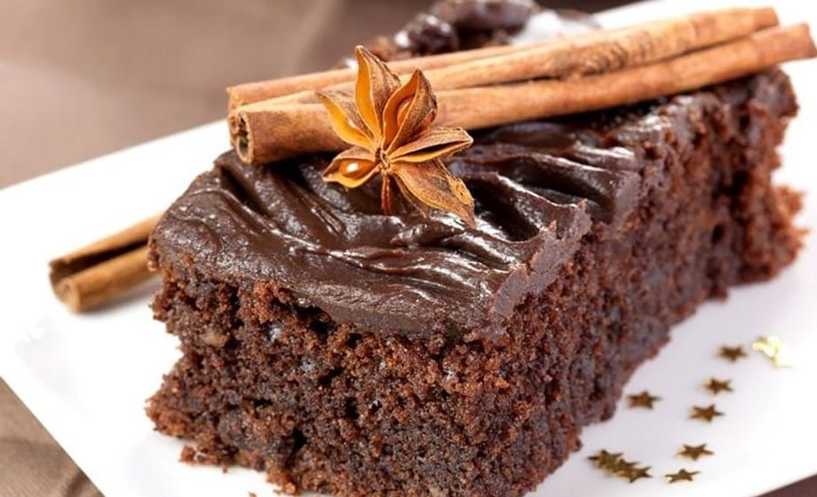 Chocolate and Cinnamon Soft Cake