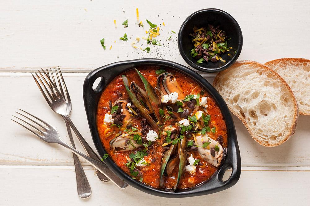 Mussels Arrabbiata - Italian Recipe