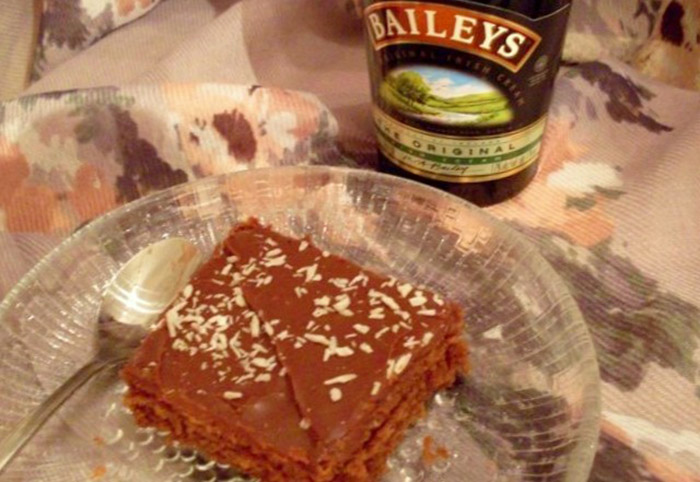Soft Chocolate Baileys Shortbread