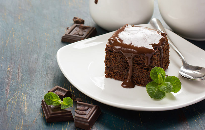 Moist Chocolate Cake - Italian Recipe