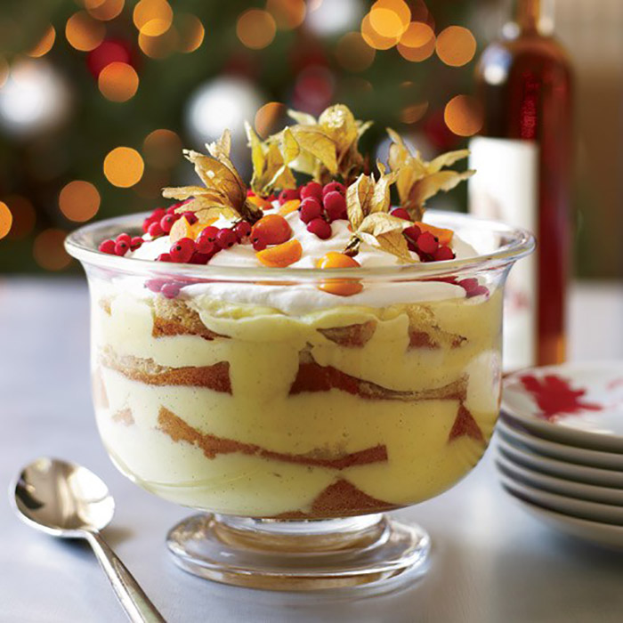 Limoncello Trifle - Italian Recipe
