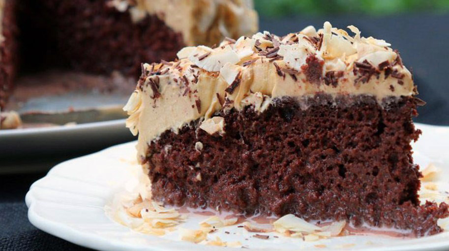 Moist Chocolate Tres Leches Cake